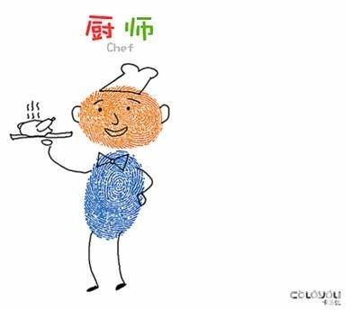 (视频 图文)教宝宝画创意手指画,发挥宝宝的无限创意