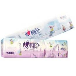 心相印薰衣草迷你型手帕纸10包紫色包装图片